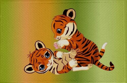 29 bandiera bandiera aufbügler Patch 9 x 6 cm Ricamate Tiger motivo n