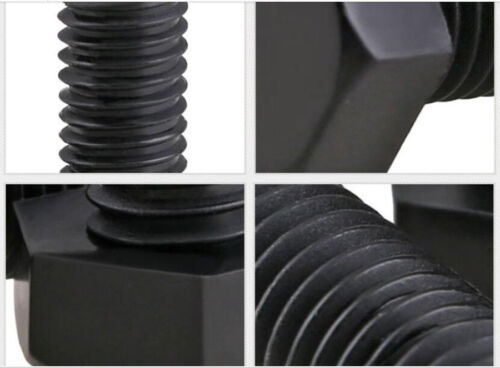 M6 M8 Plastic Screws ROHS Nylon HEX Head Cap Screw Machine Bolts Black