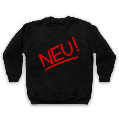 NEU GERMAN ELECTRONIC KRAUTROCK UNOFFICIAL ROCK BAND ADULTS /& KIDS SWEATSHIRT