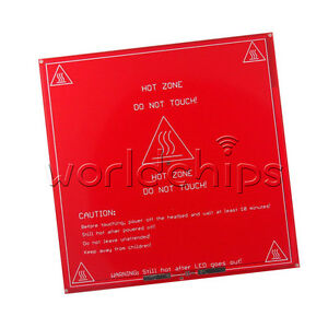 Active Components Reprap Heatbed Heat Bed Pcb Mk2a Hot Plate For 3d Printer Prusa Mendel Sales Of Quality Assurance Integrated Circuits