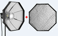 Jinbei BD-80cm Silver Folding Beauty Dish with grid for Jinbei and Bowens mount.