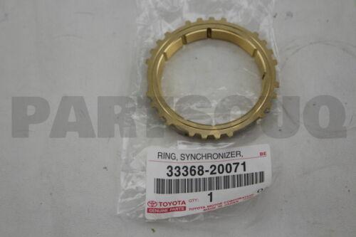 3336820071 Genuine Toyota RING FOR 4TH GEAR 33368-20071 SYNCHRONIZER