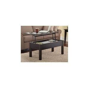 Lift Top Living Room Up Flip Coffee Table Wood Storage Hidden Compartment Sofa Ebay