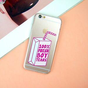 best cheap f0f1c e761c Details about 100% Fresh Boy Tears Funny Instagram iPhone 5/5S/SE 6/6S 7  Plus Case/Cover UK!