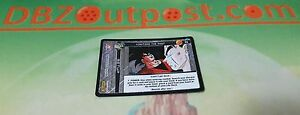 Dragonball Z DBZ TCG Panini Foil Promo Visiting the Past P4