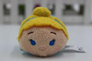 New-Cinderella-Disney-Store-Tsum-Tsum-Mini-3-5-034-Plush-Doll-Toy