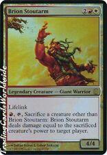 Brion stoutarm // foil // oversized // nm // Commander's arsenal // Engl.