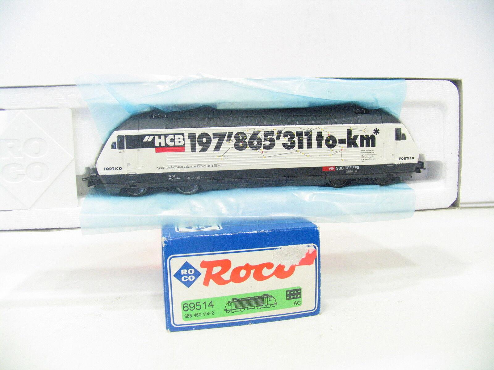 Roco 69514 e-Lok serie 460 de hcb SBB ac as524