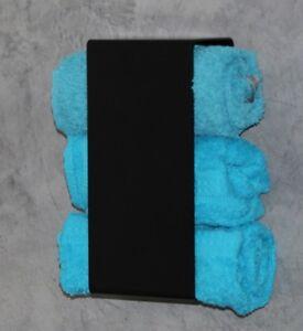 g ste handtuchhalter ohne bohren handtuchregal loft bauhaus design g ste wc bad ebay. Black Bedroom Furniture Sets. Home Design Ideas