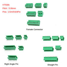Screw Terminal Block Connector 508mm Pitch 3 Type Ht508k 234568pin 550pcs