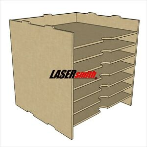 A4 Stacking Paper Storage Unit for