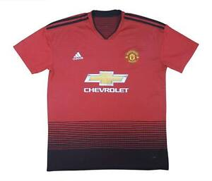Manchester United 2018-19 Authentic Home Shirt (Fair) XL soccer jersey