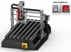 Bauanleitung-CNC-Lowcost-Portalfraesmaschine-Bauplan-Fraese-3D-Drucker-Printer-USB