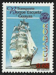 Ecuador-1502-2000-ship-School-Guayas-boat-ship-MNH