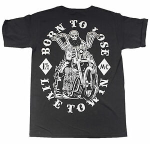 To Marca La T Rockabilly Del shirt Live Diablo Win born Biker Rocker Harley N80mnOyvw