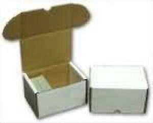 930ct Cardboard Box for Card Storage New Storage