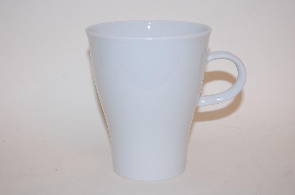 6 Tazza Da Caffè Tazza con manico 9,3 11,3cm MOVE BIANCO BIANCO ARZBERG NUOVO