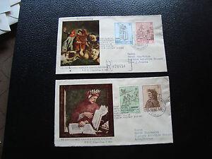 Vatican-2-Envelopes-1er-Day-18-5-1965-cy17