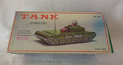 In Ovp Genial Blechpanzer Mit Geräuschen Made In China Tank Mf 956