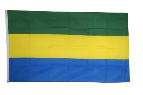 Drapeau GABON Drapeau Gabonais Hissflagge 90x150cm