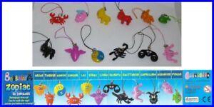 Barbapapa-Zodiaco-Set-12-Figuras-Correa-Colgante-Colgantes-Zodiac-COOL-THINGS