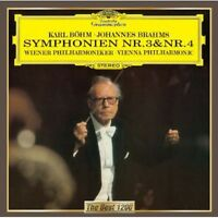 Vienna Philharmonic - Brahms: Symphonies Nos. 3 & 4 [new Cd] on Sale