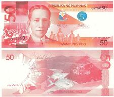 Philippines 50 Piso 2010 P-207a NEUF UNC Uncirculated Banknote