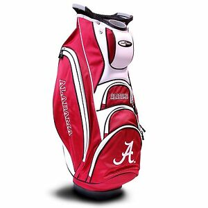 BRAND-NEW-Team-Golf-NCAA-Alabama-Crimson-Tide-Victory-Cart-Bag-20173
