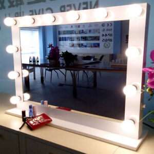 Hollywood Makeup Vanity Mirror With Light Stage Led Beauty