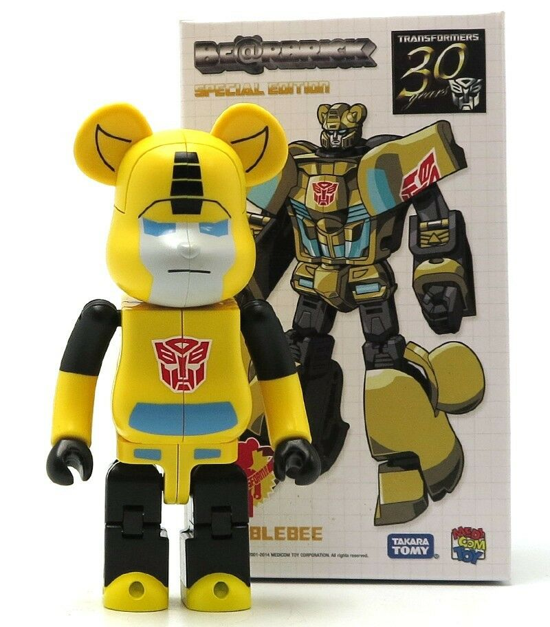 Transformers Bumblebee 200% Bearbrick 30 Years Special Edition Be@rbrick