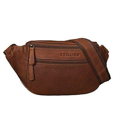 STILORD Marian Gürtel Tasche Leder Vintage Bauch Tasche für Herren und Damen