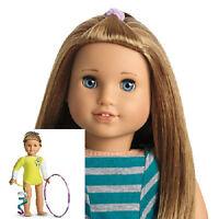 American Girl Mckenna Doll + Mckenna's Yellow Performance Outfit Leotard Set
