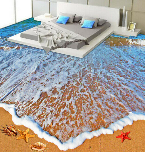 3D Summer Beach 600 Floor WallPaper Murals Wall Print Decal AJ WALLPAPER Summer