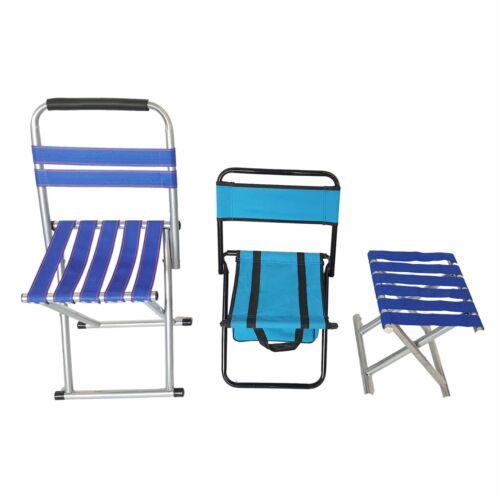 Folding Chair Stool Camping Fishing BBQ Festival Lightweight Picnics Outdoor