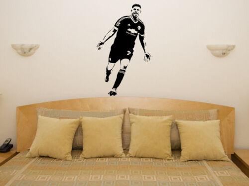 Marcus Rashford England English Football Player Decal Wall Art Sticker Picture
