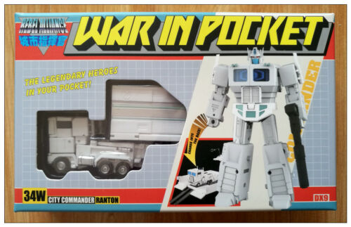 New Transformers DX9 Toys War in Pocket X34W Ronton G1 Mini Ultra Magnus