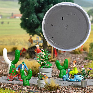 BUSCH-7556-Modelmaking-plasticine-Gray-90g-100-g-new-original-packaging