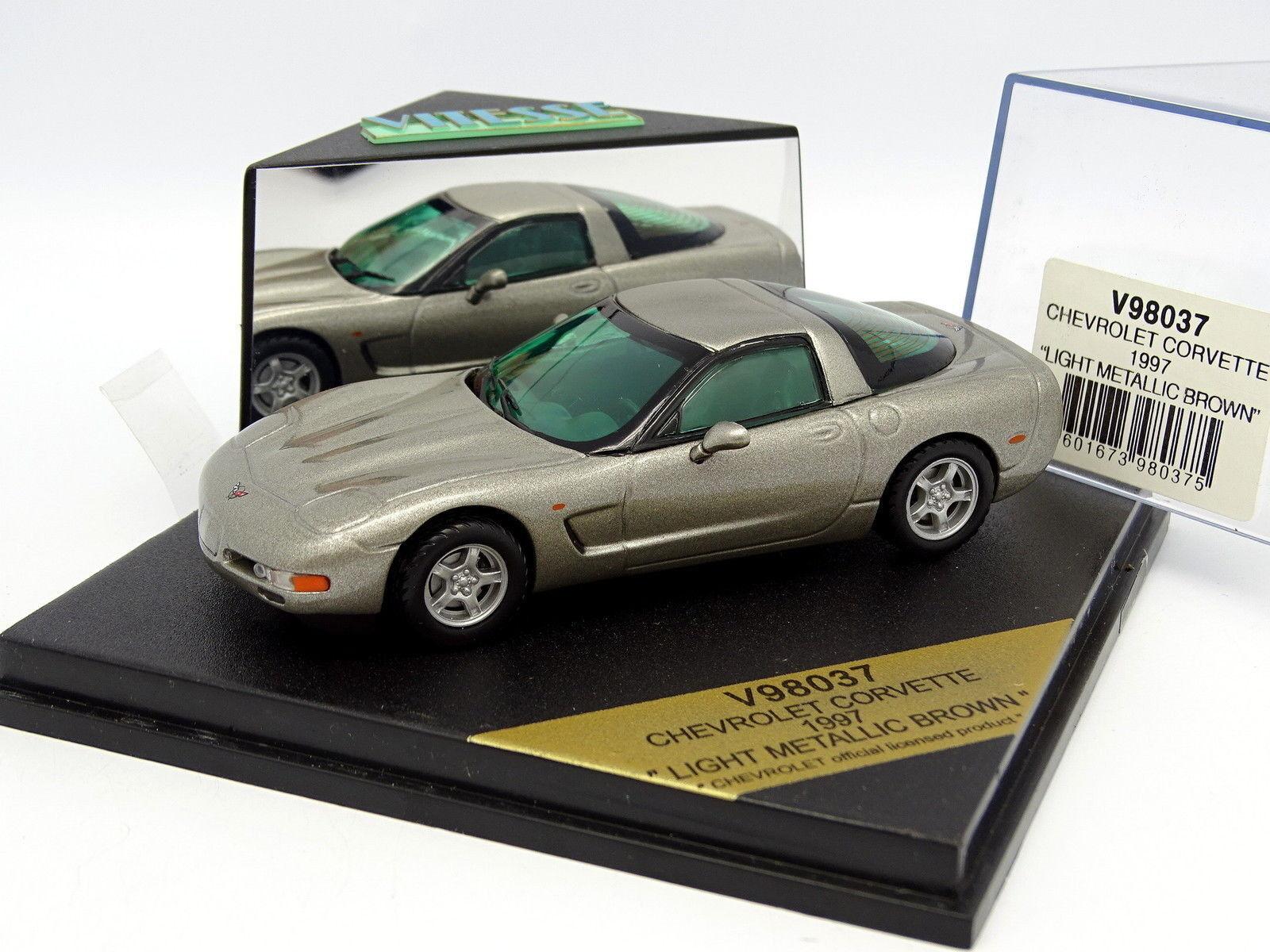 Vitesse 1 43 - Chevrolet Corvette 1997 grey