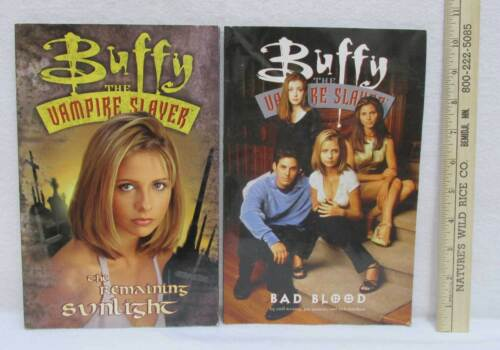 Buffy The Vampire Slayer Bad Blood /& The Remaining Sunlight Lot of 2 Comic Books