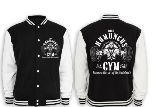splendere Lord Chrome rockatansky Humungus Collegejacke kult e Gym intercettore qxqOtFw4