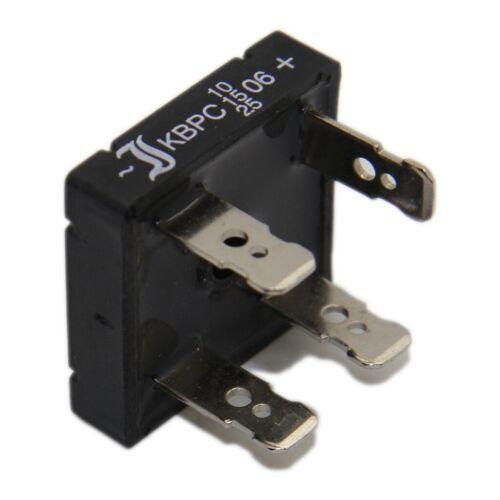 1,2kV If KBPC3512FP Einphasen Brückengleichrichter Urmax 375A DIOTEC 35A Ifsm