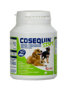 Cosequin Start Aliments Pour Animaux Complémentaire Les Chiens 40 Capsules