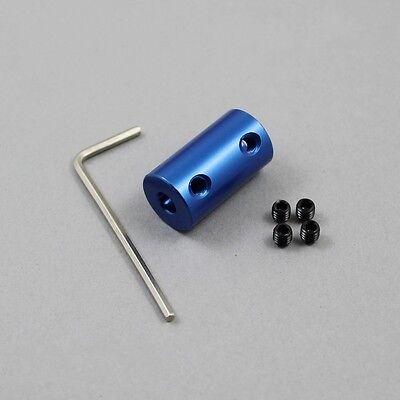 4/5/6/7/8mm Shaft Coupling Rigid Coupling Coupler Motor Connector+Tighten screw