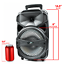 "thumbnail 6 - 8"" Party Portable PA Bluetooth Speaker System Big Led Stereo Tailgate Loud USB"