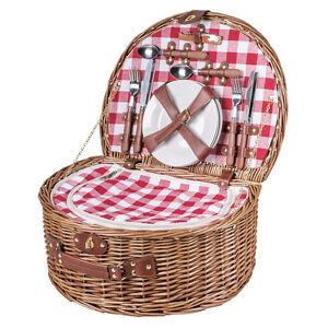 Picknickkorb-halbrund-fuer-4-Personen-Picknickkorb-komplett-als-Kuehltasche