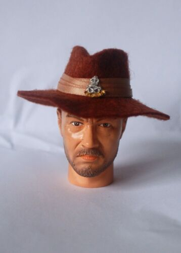 1//6 hand made in feltro WW2 British chindit Birmania Jungle Slouch Hat
