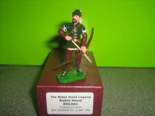 Robin Hood Metal Hand Painted Figure 1//32 scale