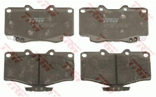 4x TRW Bremsbeläge vorne für TOYOTA 4 RUNNER VOLKSWAGEN TARO GDB797
