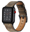 thumbnail 11 - Dark Brown Genuine Leather Strap for Apple Watch 42mm/44mm Series 1,2,3,4,5,6,SE
