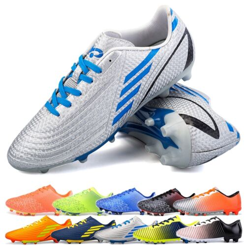Men Outdoor Spikes Training Football Boot Hard-wearing Soccer Cleats Shoes Nice